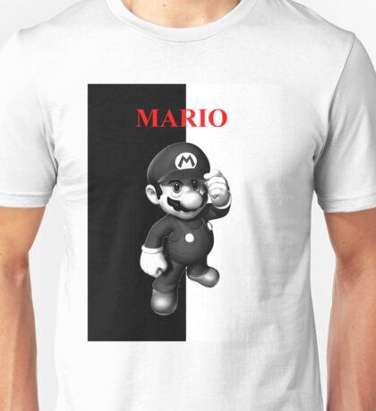 Mario Scarface Unisex T-Shirt