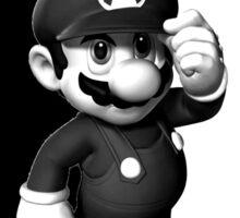 Mario Scarface Sticker