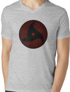 Mongekyou Crow Mens V-Neck T-Shirt