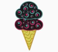 Alternative Retro Ice Cream Cone by Starzraven