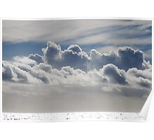 Cloud Over Sea Poster