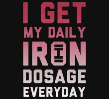Iron Dosage by printproxy