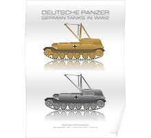 Berge-Ferdinand - Bergepanzer Tiger - First Production Poster