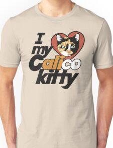Calico Kitty LOVE Unisex T-Shirt
