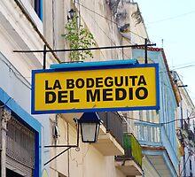 La Bodeguita del Medio Sign by Valentino Visentini