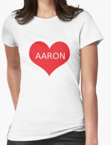 AARON CARPENTER Womens Fitted T-Shirt