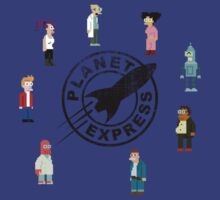 Planet Express Crew by steveg2004