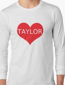 Taylor caniff Long Sleeve T-Shirt