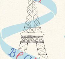Merci Beuacoup Sticker