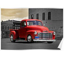 1953 Chevrolet Pick Up Truck Poster