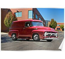 1956 Ford F100 Panel Truck Poster