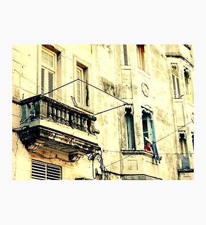 Old Building Facade Photographic Print