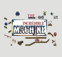 The Incredible Machine TIM Pixel Style - Retro DOS game fan shirt by hangman3d