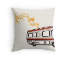 Breaking Bad - Crystal Ship Throw Pillow