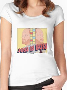 Joss is Boss  Women's Fitted Scoop T-Shirt