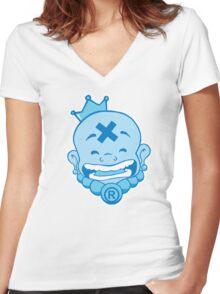 Buddha! Women's Fitted V-Neck T-Shirt