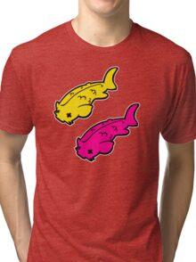 Dub dub Koi! Tri-blend T-Shirt