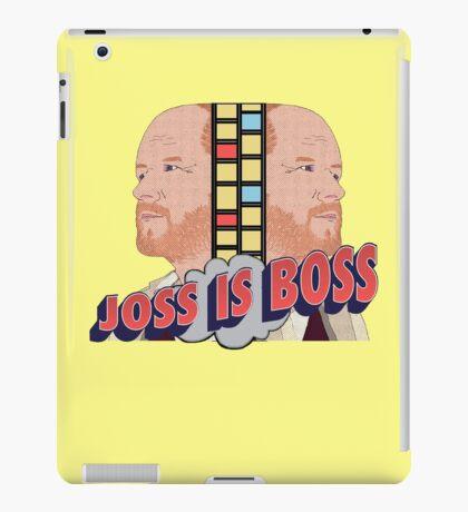 Joss is Boss  iPad Case/Skin