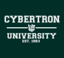 Cybertron University (White) by TheSassmaster