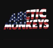 Arctic Monkeys USA logo by PetSoundsLtd