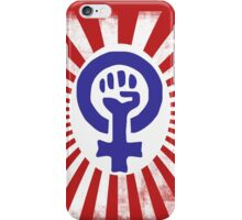 Feminist Logo iPhone Case/Skin