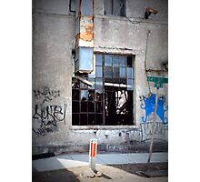 Birmingham Street Graffiti Photographic Print