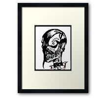 Misfits Skull Artwork Framed Print