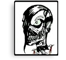 Misfits Skull Artwork Canvas Print
