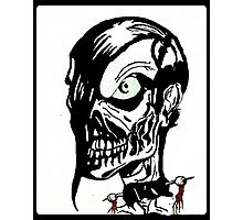 Misfits Skull Artwork Photographic Print