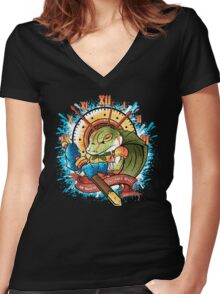 Our Own Will Women's Fitted V-Neck T-Shirt