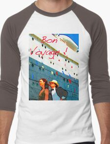 Bon Voyage Men's Baseball ¾ T-Shirt