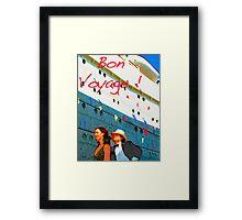 Bon Voyage Framed Print