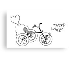 Third Wheel Canvas Print