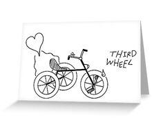 Third Wheel Greeting Card