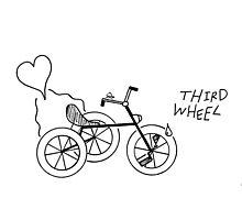 Third Wheel Photographic Print