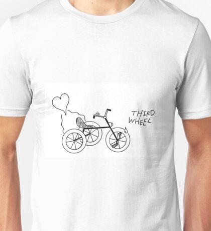 Third Wheel Unisex T-Shirt