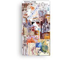 Dada Chart. Canvas Print