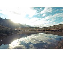Sunny afternoon at a lake Photographic Print