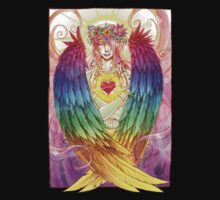 Colorful Angel One Piece - Short Sleeve