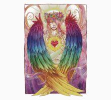 Colorful Angel Kids Tee