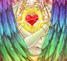 Colorful Angel Sticker