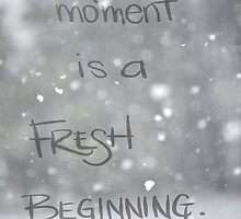 Fresh Beginning by weatherington