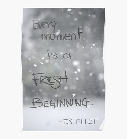 Fresh Beginning Poster