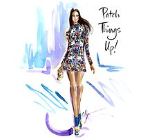 Patch Things Up Photographic Print