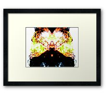 I don't know either... Framed Print
