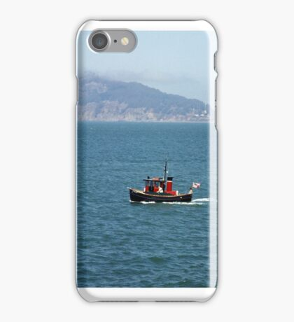 Tugboat on San Francisco Bay iPhone Case/Skin