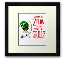 What if Zelda was a Grill? Framed Print