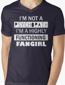 I'm a Highly Functioning Fangirl Mens V-Neck T-Shirt
