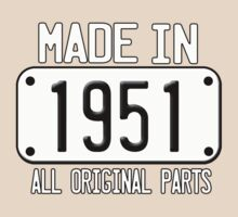 MADE IN 1951 by mcdba