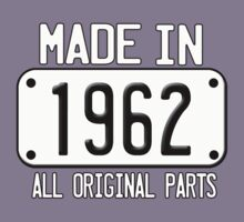 MADE IN 1962 by mcdba